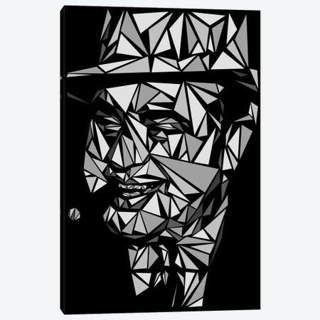 Al Capone II Canvas Print #MIE5} by Cristian Mielu Canvas Print