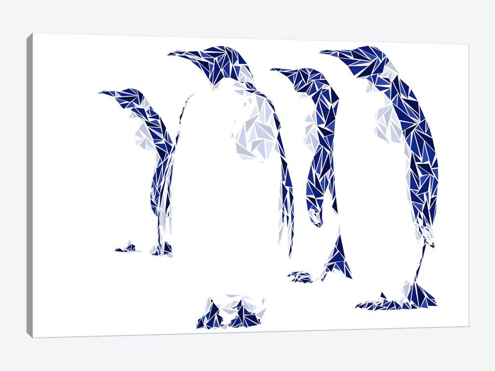 Penguins by Cristian Mielu 1-piece Canvas Art