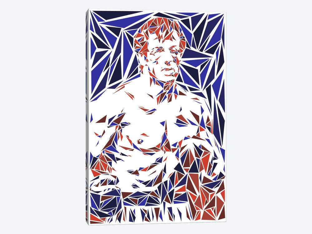 Rocky Balboa 1-piece Canvas Print
