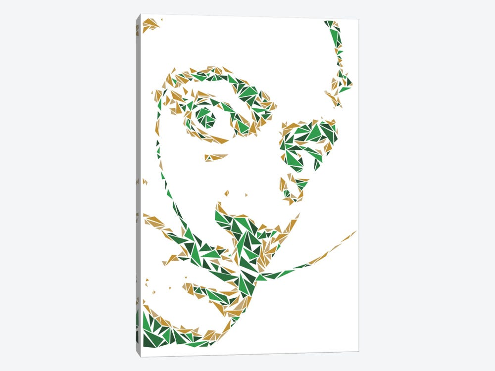 Salvador Dali by Cristian Mielu 1-piece Canvas Art