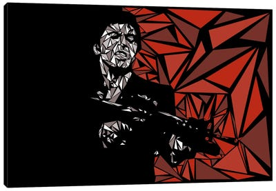 Scarface Canvas Print #MIE65