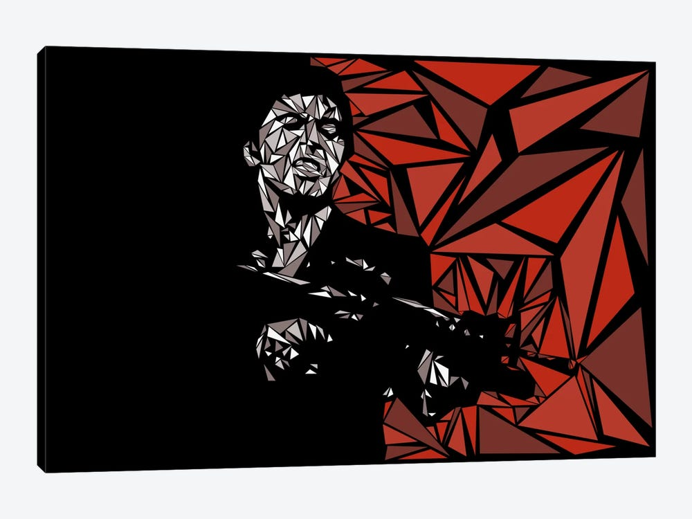 Scarface by Cristian Mielu 1-piece Art Print