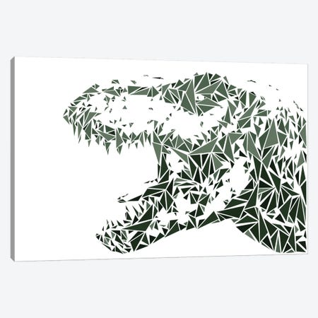 Tyrannosaurus Rex Canvas Print #MIE68} by Cristian Mielu Art Print