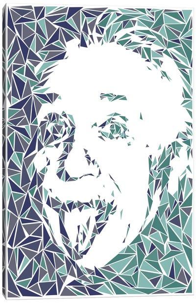 Albert Einstein Canvas Print #MIE6