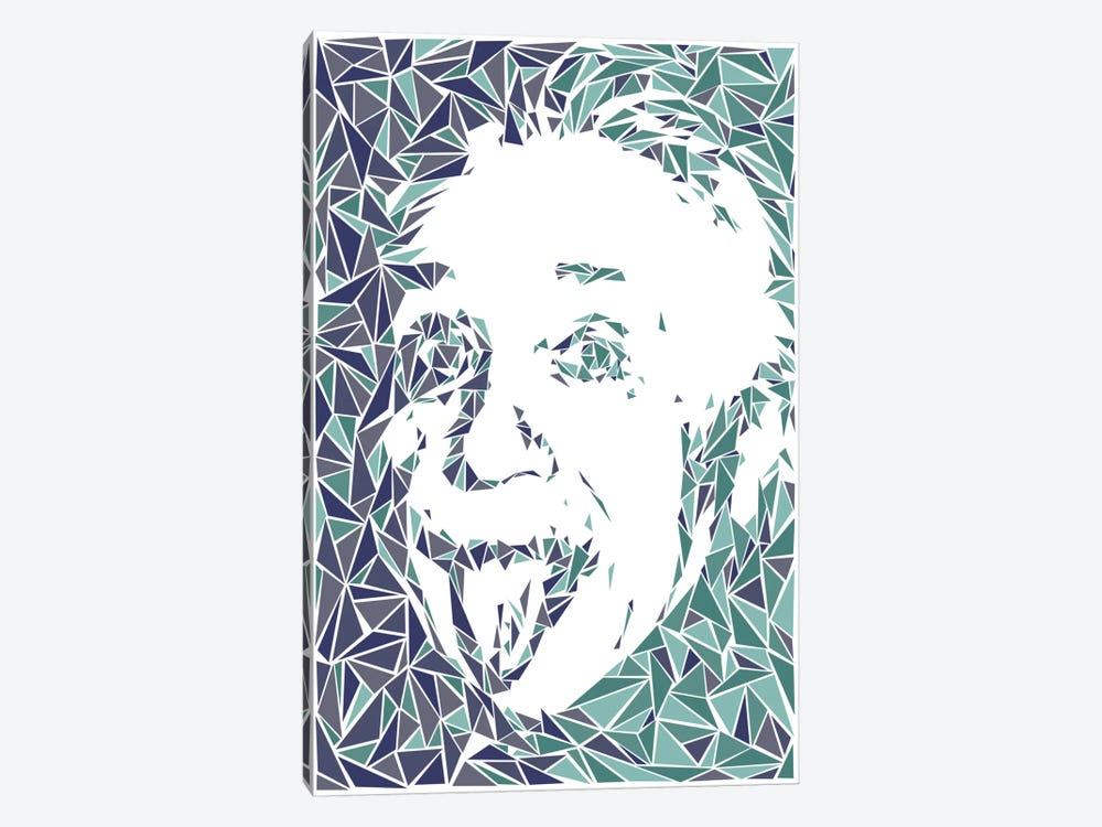 Albert Einstein by Cristian Mielu 1-piece Canvas Print