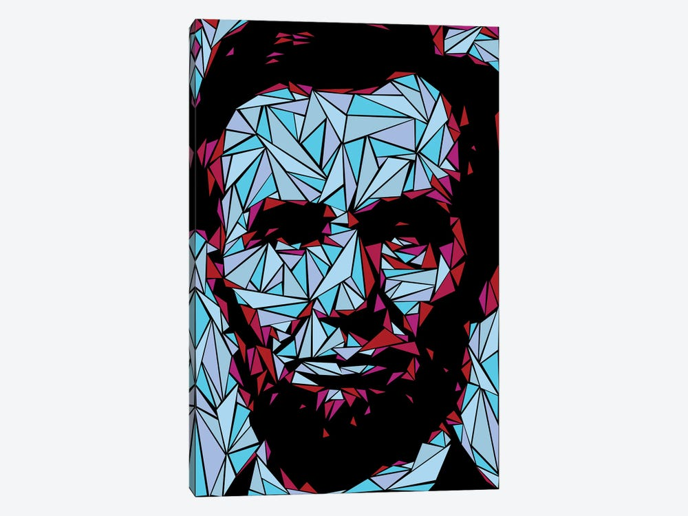 Abraham Lincoln II by Cristian Mielu 1-piece Canvas Art Print