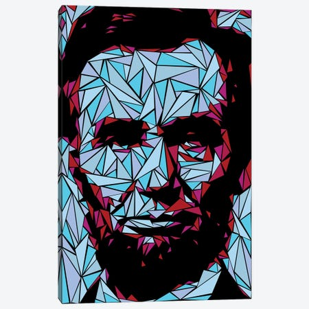 Abraham Lincoln II Canvas Print #MIE72} by Cristian Mielu Canvas Artwork