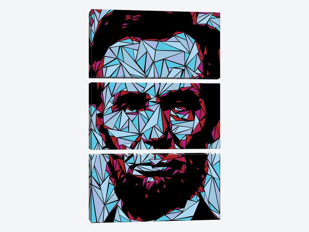 Abraham Lincoln II by Cristian Mielu 3-piece Art Print