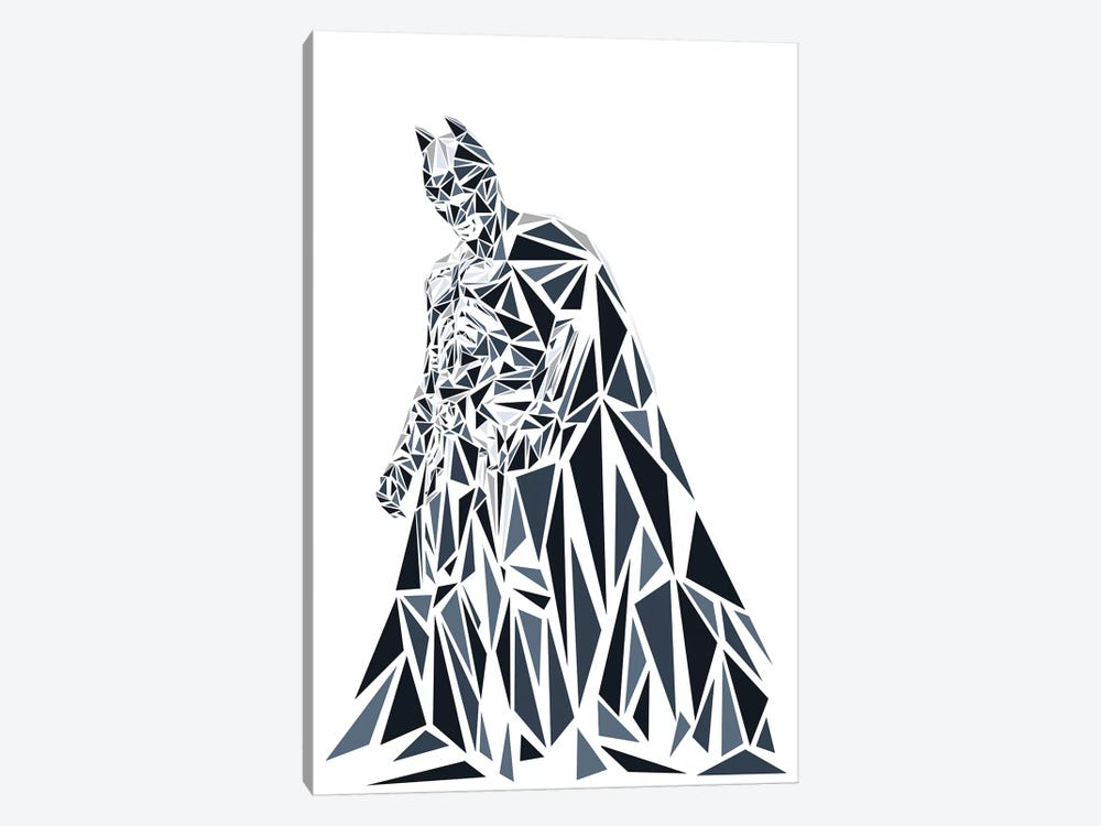 Batman II by Cristian Mielu 1-piece Canvas Art