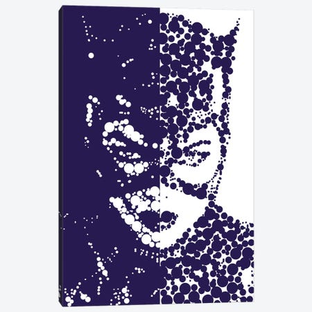 Catwoman Canvas Print #MIE78} by Cristian Mielu Canvas Art