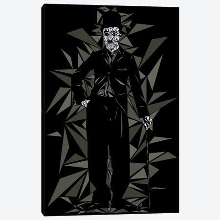 Charlie Chaplin II Canvas Print #MIE79} by Cristian Mielu Canvas Art