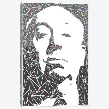 Alfred Hitchcock Canvas Print #MIE7} by Cristian Mielu Canvas Art Print
