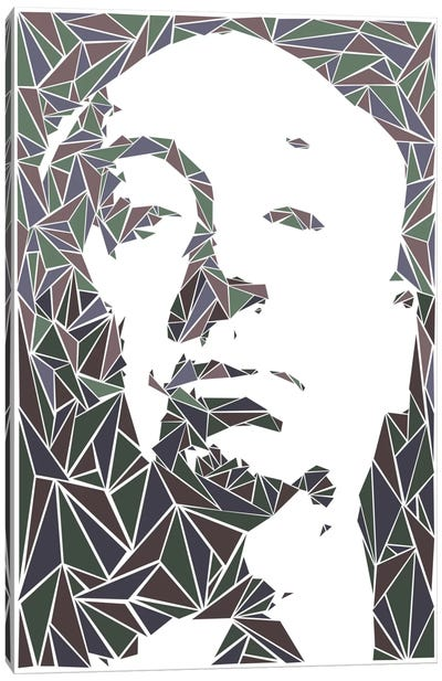 Alfred Hitchcock Canvas Print #MIE7