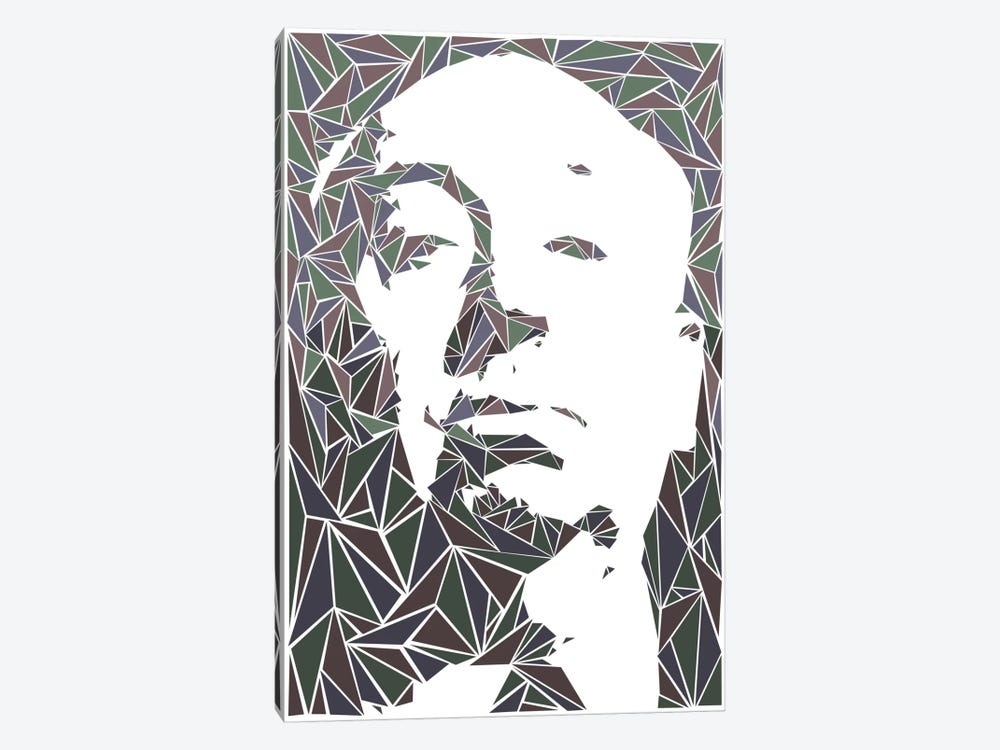 Alfred Hitchcock by Cristian Mielu 1-piece Canvas Wall Art