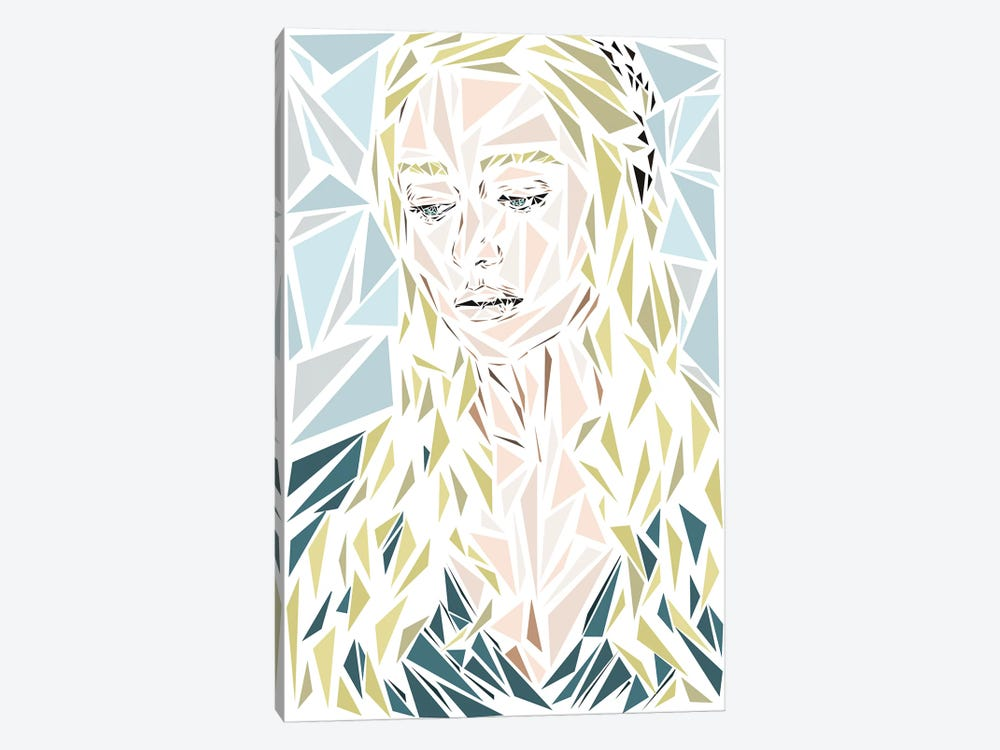 Daenerys by Cristian Mielu 1-piece Canvas Artwork