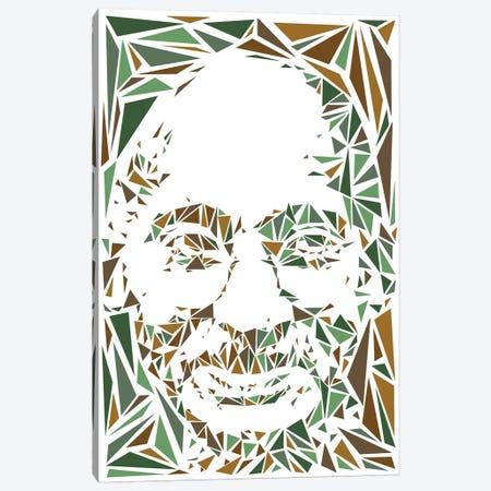 Gandhi Canvas Print #MIE84} by Cristian Mielu Canvas Artwork