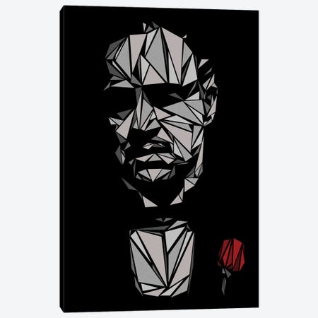 Godfather I Canvas Print #MIE85} by Cristian Mielu Canvas Artwork