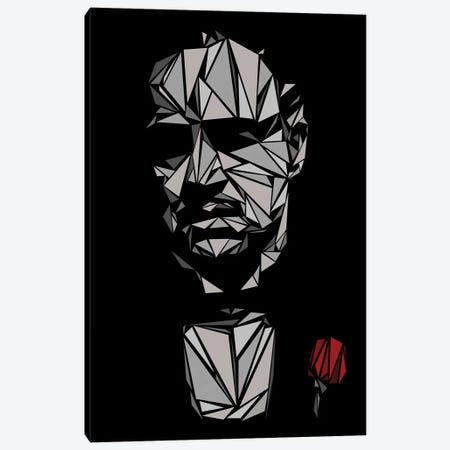 Godfather I Canvas Print #MIE85} by Cristian Mielu Canvas Artwork