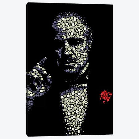 Godfather II Canvas Print #MIE86} by Cristian Mielu Canvas Art