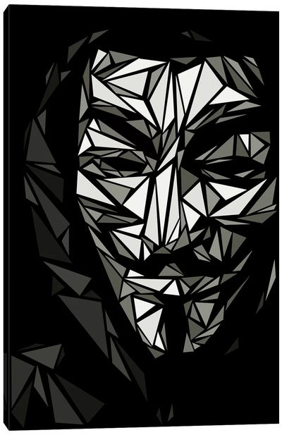 Guy Fawkes II Canvas Art Print