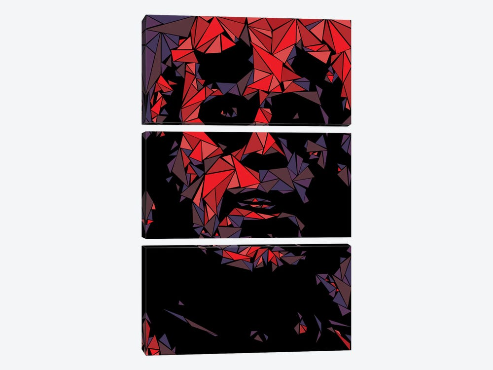 Hellboy by Cristian Mielu 3-piece Canvas Art Print