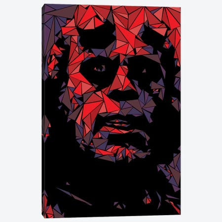Hellboy Canvas Print #MIE90} by Cristian Mielu Canvas Artwork