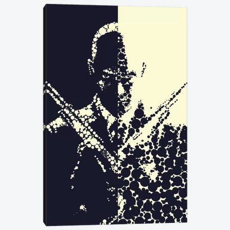 Hitman Canvas Print #MIE91} by Cristian Mielu Canvas Artwork