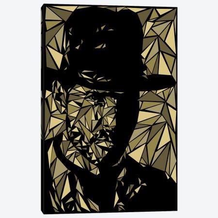 Indiana Jones Canvas Print #MIE93} by Cristian Mielu Canvas Artwork