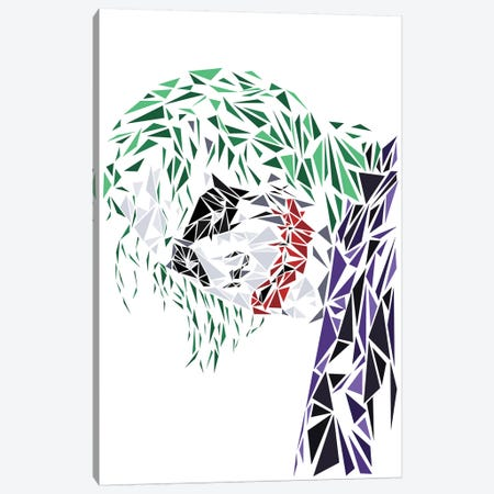 Joker I Canvas Print #MIE95} by Cristian Mielu Canvas Print