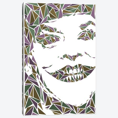Joker II Canvas Print #MIE96} by Cristian Mielu Art Print