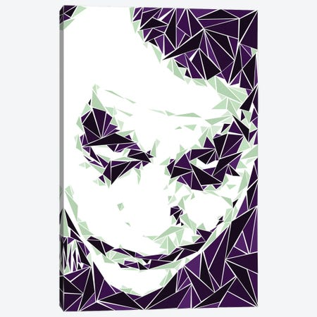 Joker III Canvas Print #MIE97} by Cristian Mielu Canvas Print