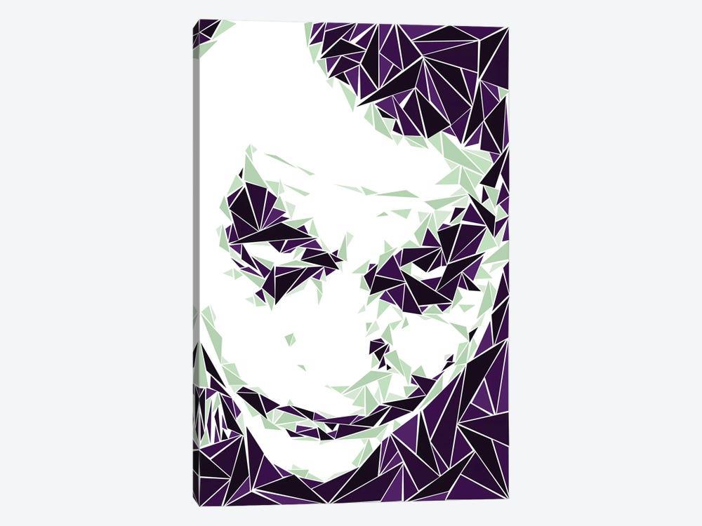 Joker III by Cristian Mielu 1-piece Canvas Wall Art