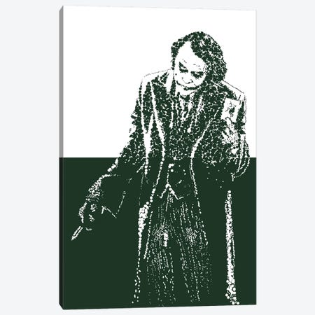Joker IV Canvas Print #MIE98} by Cristian Mielu Canvas Artwork