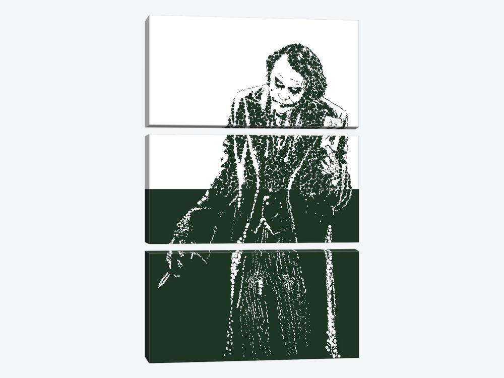 Joker IV by Cristian Mielu 3-piece Art Print
