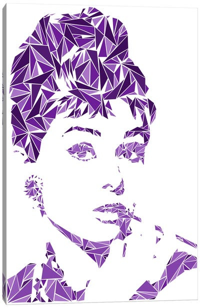 Audrey Hepburn Canvas Art Print