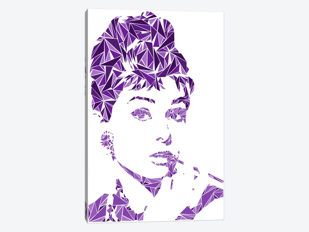 Audrey Hepburn by Cristian Mielu 1-piece Canvas Artwork