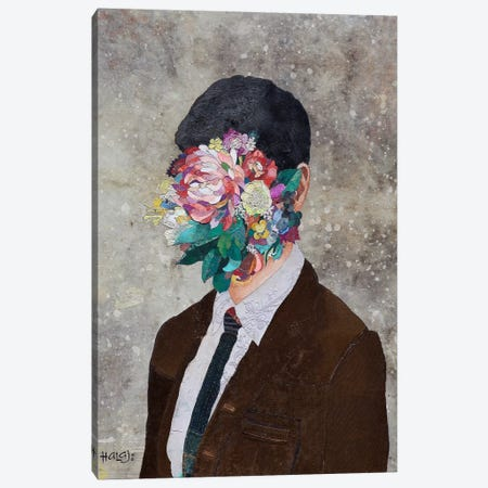 Floral Mind #12 Canvas Print #MIH13} by Minas Halaj Canvas Print