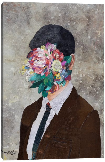 Floral Mind #12 Canvas Art Print