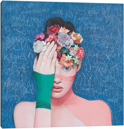 Floral Mind #41 Canvas Art Print