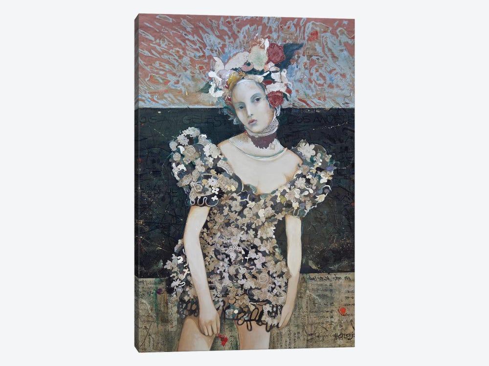 Girl From LA by Minas Halaj 1-piece Canvas Wall Art
