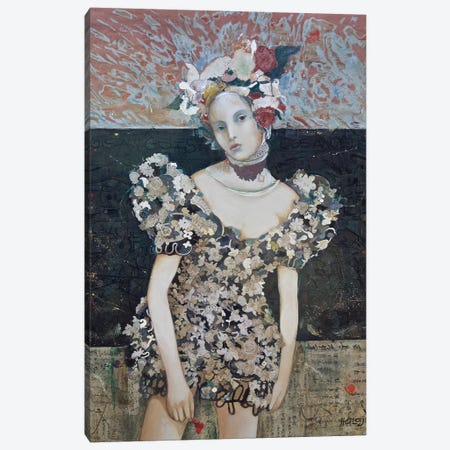 Girl From LA Canvas Print #MIH16} by Minas Halaj Canvas Artwork