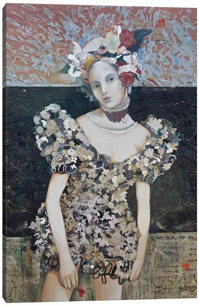 Girl From LA Canvas Art Print