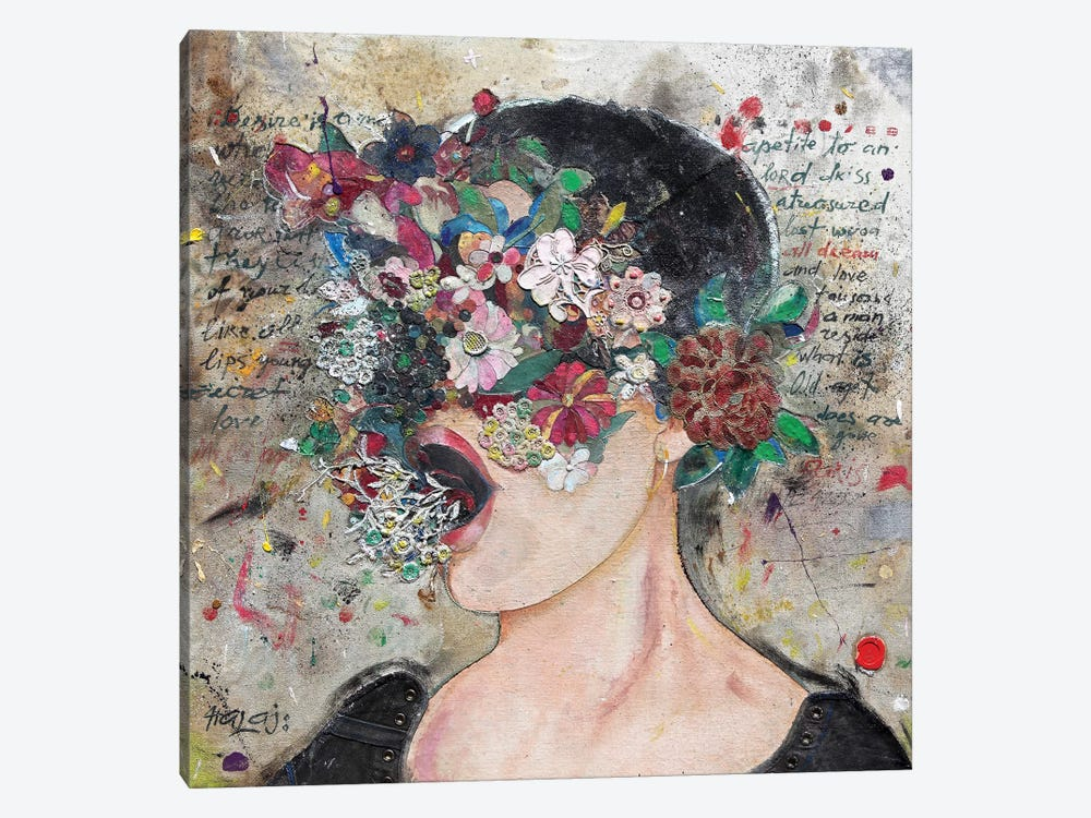 Girl From Wall Street by Minas Halaj 1-piece Art Print