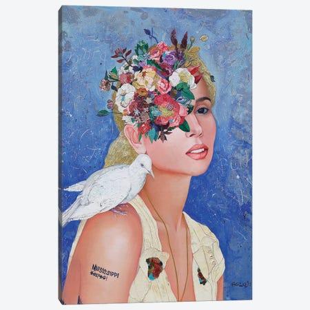 Floral Mind #42 Canvas Print #MIH19} by Minas Halaj Canvas Art Print