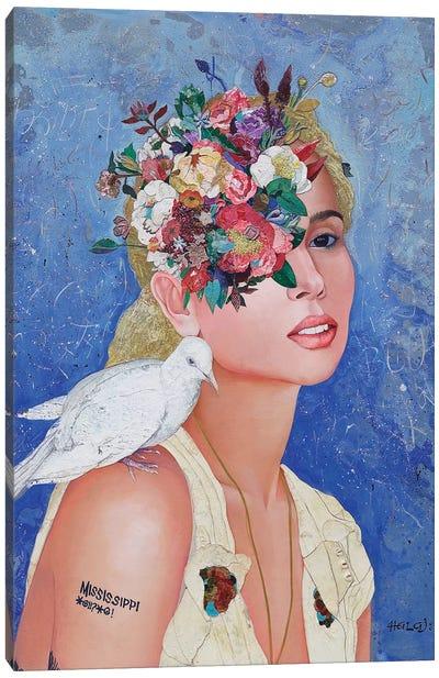 Floral Mind #42 Canvas Art Print