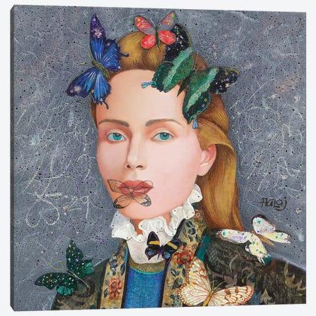 Butterfly #3 Canvas Print #MIH21} by Minas Halaj Canvas Artwork