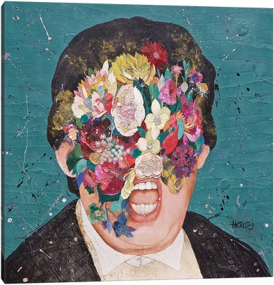 Floral Mind #10 Canvas Art Print