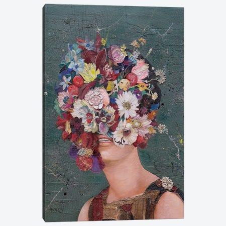 Floral Mind #11 Canvas Print #MIH28} by Minas Halaj Canvas Wall Art