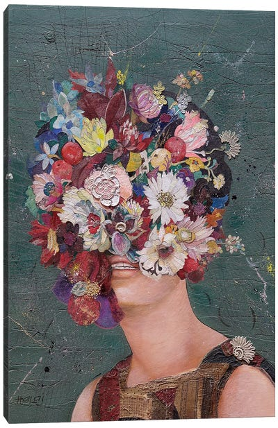 Floral Mind #11 Canvas Art Print