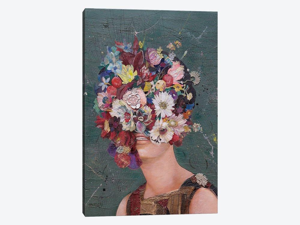 Floral Mind #11 by Minas Halaj 1-piece Canvas Print